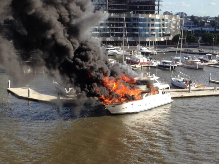 Boating Safety: Keeping a Fire Gel Handy!